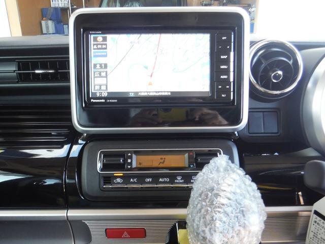 ハイブリッドXSターボ 4WD 新車  スズキセーフティサポート 7インチワイドフルセグナビ ETC バックカメラ ドライブレコーダー フロアマット&サイドバイザー ボディーコーティング 7点付き(19枚目)