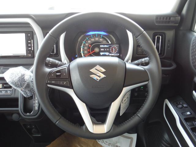 ハイブリッドX 2WD 新車 スズキセーフティサポート 7インチフルセグナビ ETC バックカメラ ドライブレコーダー サイドバイザー フロアマット ボディーコーティング 7点付(17枚目)