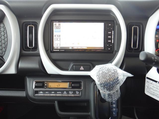 ハイブリッドX 2WD 新車 スズキセーフティサポート 7インチフルセグナビ ETC バックカメラ ドライブレコーダー サイドバイザー フロアマット ボディーコーティング 7点付(18枚目)