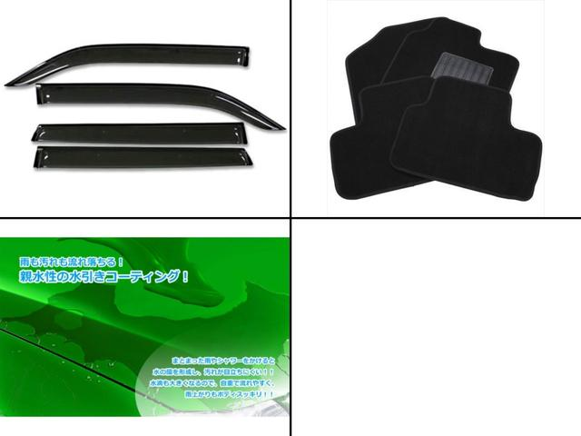 カスタムG 新車 ナビ ETC バックカメラ ドライブレコーダー 車種専用オリジナルフロアマット サイドバイザー ボディコーティング 7点付(3枚目)