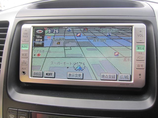 トヨタ ランドクルーザープラド TXリミテッド ワンセグメモリーナビ 純正17インチAW