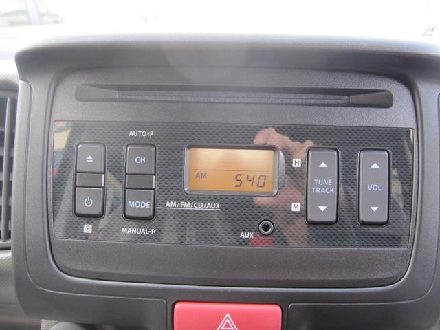 スズキ エブリイ ジョインターボ届出済未使用車 純正CDチューナー