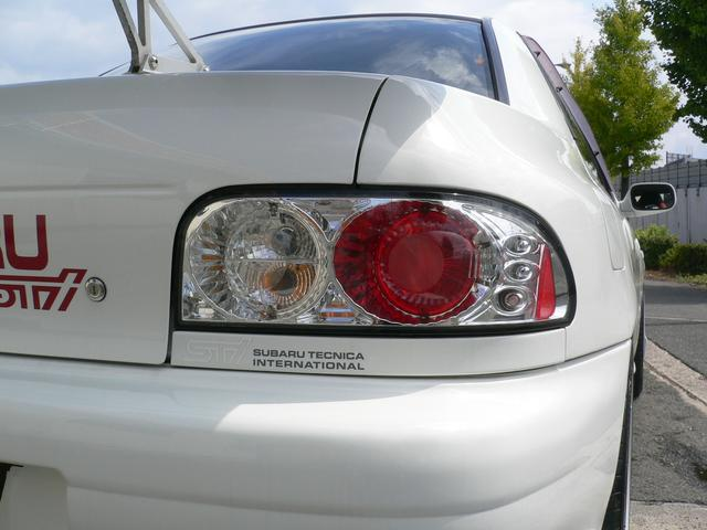 スバル インプレッサ WRX STiバージョンIV 車高調 ADVAN17AW