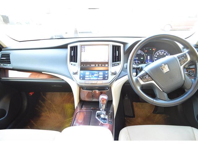 トヨタ クラウンハイブリッド ロイヤルサルーンG 禁煙車 ワンオーナー プリクラッシュ