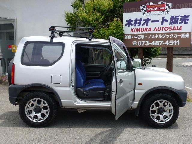 スズキ ジムニー XA ターボ パワステ エアコン ETC 4WD
