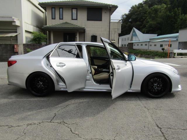 「トヨタ」「マークX」「セダン」「和歌山県」の中古車7