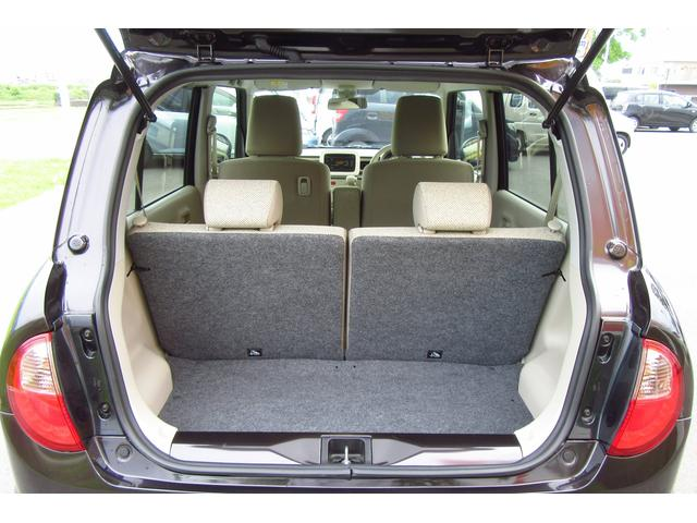 コンパクトな車体ながらもしっかりとラゲッジスペースは確保されています!!