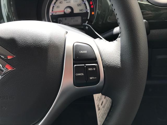 Jターボ専用装備!クルーズコントロール付♪設定した速度をキープしてくれる快適装備です!長距離ドライブの際は疲れを軽減してくれますよ♪