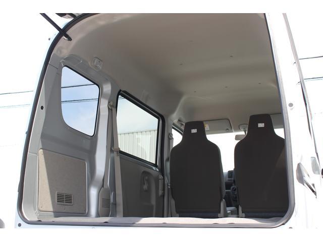 バックドアは大きな開口部と低い床面地上高とし、荷物の積み降ろしがスムーズに行なえます。また後席ドアもゆとりある開口部によって、荷物の出し入れにも対応できます。