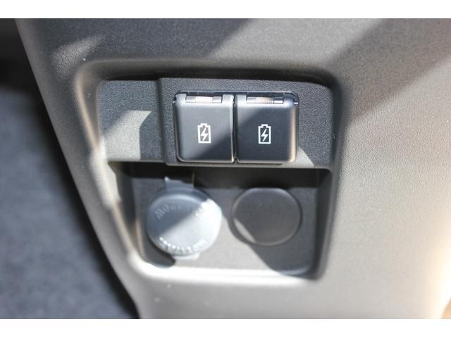 仕様変更でUSBの充電ポートが追加装備されました☆