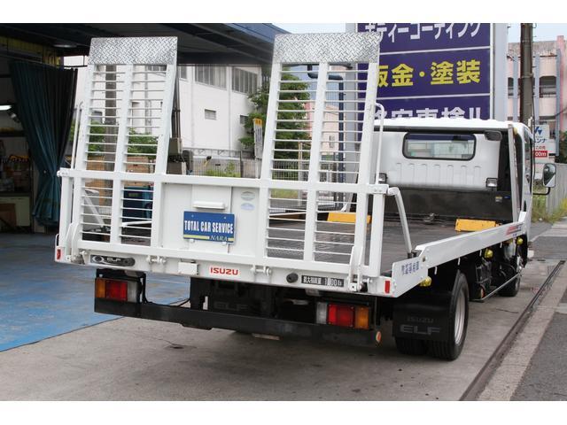 いすゞ エルフトラック 積載車 ユニックネオ5