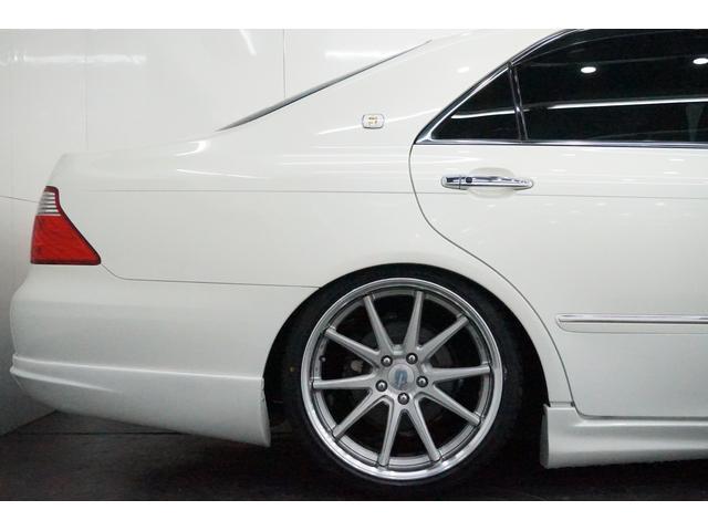 トヨタ クラウン RS新ワーク新タイヤ新車高調本革HDD地デジBカメラHID