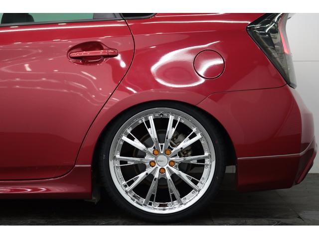 トヨタ プリウス S US風新TEIN車高調新アネーロ19AW社外テールETC
