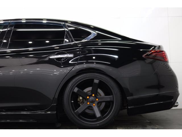 日産 フーガ 250GT社外19AW新TEIN車高調イカリングヘッドライト