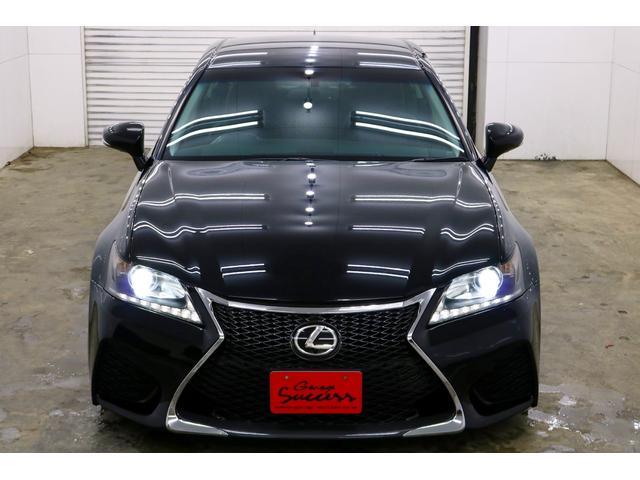 GS350 Iパッケージ 新品WORKシュバートクヴェル20インチ/新品タイヤ/黒レザー内装/新品TEIN車高調/ローダウン/ETC/フルセグTV/Bluetooth/パドルシフト/シートヒータークーラー(5枚目)