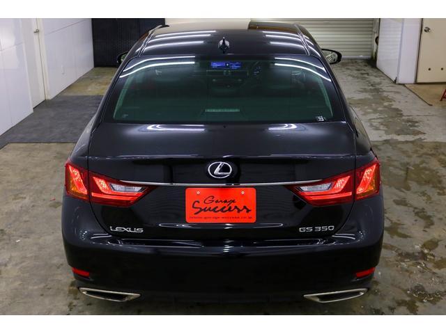 GS350 Iパッケージ 新品WORKシュバートクヴェル20インチ/新品タイヤ/黒レザー内装/新品TEIN車高調/ローダウン/ETC/フルセグTV/Bluetooth/パドルシフト/シートヒータークーラー(6枚目)