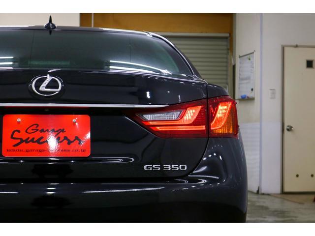 GS350 Iパッケージ 新品WORKシュバートクヴェル20インチ/新品タイヤ/黒レザー内装/新品TEIN車高調/ローダウン/ETC/フルセグTV/Bluetooth/パドルシフト/シートヒータークーラー(20枚目)