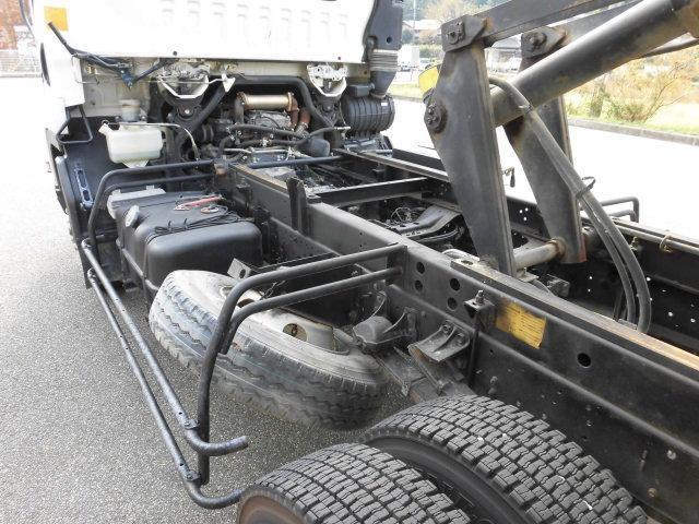 いすゞ フォワード ベッドレス 極東開発製 深ボデー土砂禁ダンプ