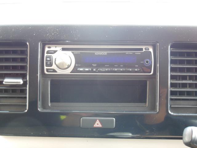 CDステレオ付き!もちろんカーナビへの変更も可能ですよ♪