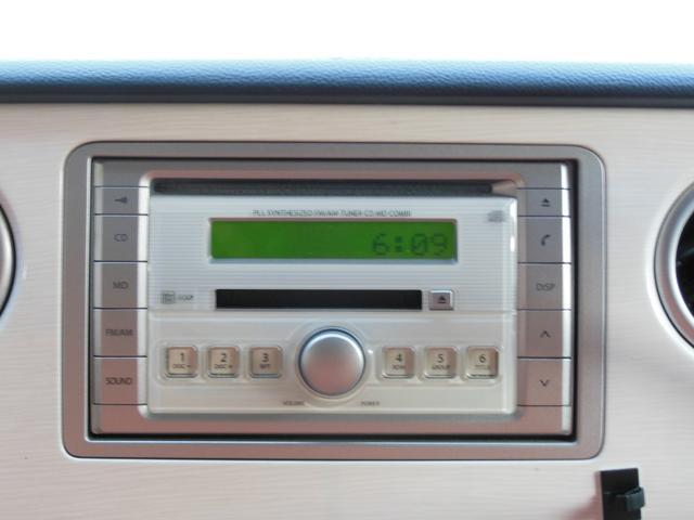 L CDステレオ アナログ時計 ホワイトエアロ キーレスキー アルミホイール(16枚目)