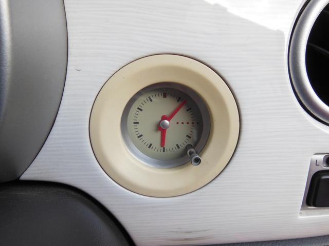 L CDステレオ アナログ時計 ホワイトエアロ キーレスキー アルミホイール(17枚目)