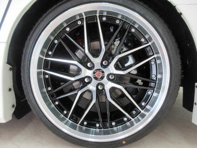 新品AME 20インチアルミ&新品タイヤ付き!各メーカーのお好みの20インチ・21インチ・22インチのアルミホイールもチョイス可能!ローダウンや車高調などもお取り扱いしております♪