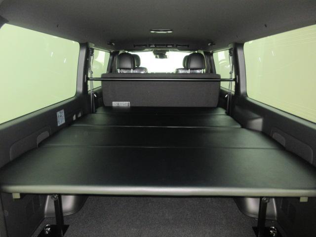 ベッドキットの高さは5段階可能で用途に合った荷室空間が作れます! (床から32cm・37cm・42cm・47cm・52cm)