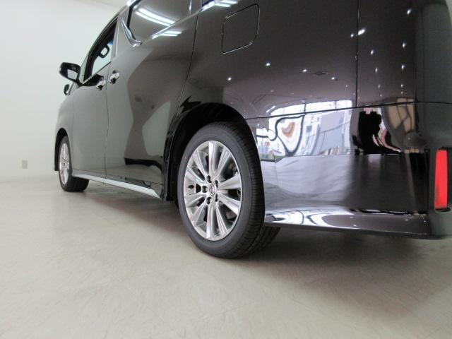 2.5S タイプゴールド 新車 3眼LEDヘッド シーケンシャルウィンカー サンルーフ デジタルインナーミラー BSM ディスプレイオーディオ 両側電動スライド パワーバックドア ハーフレザー オットマン レーントレーシング(46枚目)