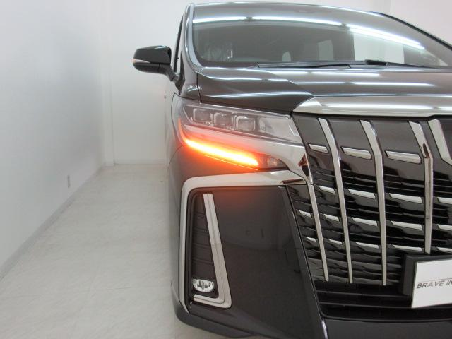 2.5S タイプゴールド 新車 3眼LEDヘッド シーケンシャルウィンカー サンルーフ デジタルインナーミラー BSM ディスプレイオーディオ 両側電動スライド パワーバックドア ハーフレザー オットマン レーントレーシング(48枚目)