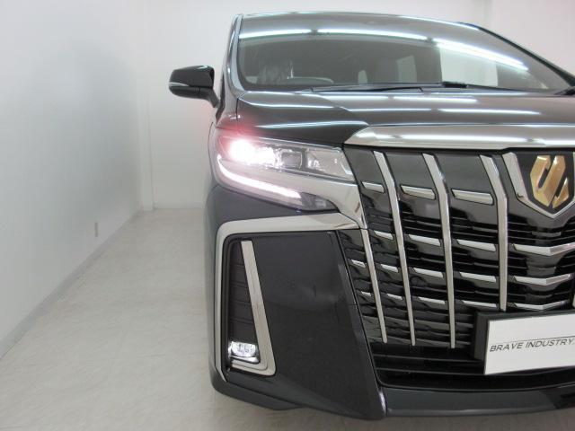 2.5S タイプゴールド 新車 3眼LEDヘッド シーケンシャルウィンカー サンルーフ デジタルインナーミラー BSM ディスプレイオーディオ 両側電動スライド パワーバックドア ハーフレザー オットマン レーントレーシング(49枚目)