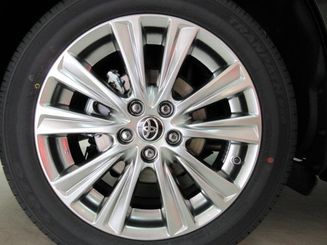 2.5S タイプゴールド 新車 3眼LEDヘッドライトシーケンシャルウィンカー ディスプレイオーディオ 両側電動スライド パワーバックドア ハーフレザーシート オットマン レーントレーシング バックカメラ 100Vコンセント(13枚目)