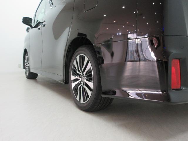 2.5S Cパッケージ 新車 3眼LEDヘッド シーケンシャル サンルーフ フリップダウンモニター ディスプレイオーディオ 両側電動スライド パワーバックドア ブラックレザーシート オットマン レーントレーシング(46枚目)