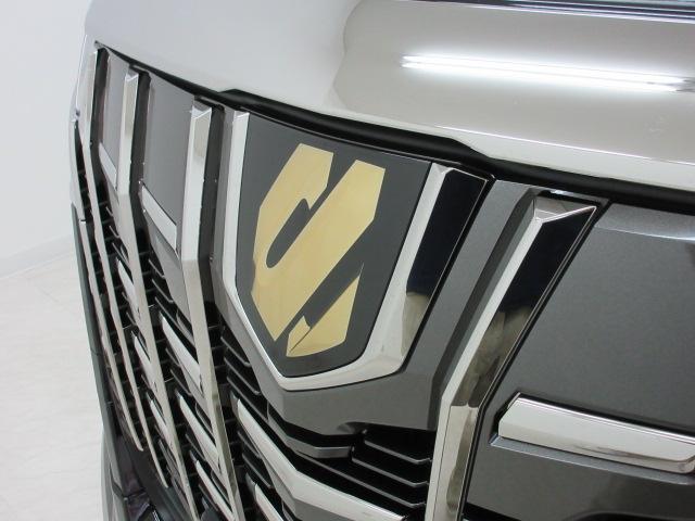 2.5S タイプゴールド 新車 モデリスタエアロ 3眼LEDヘッドシーケンシャルウィンカー ディスプレイオーディオ 両側電動スライド パワーバック ハーフレザー オットマン レーントレーシング Bカメラ 100Vコンセント(15枚目)