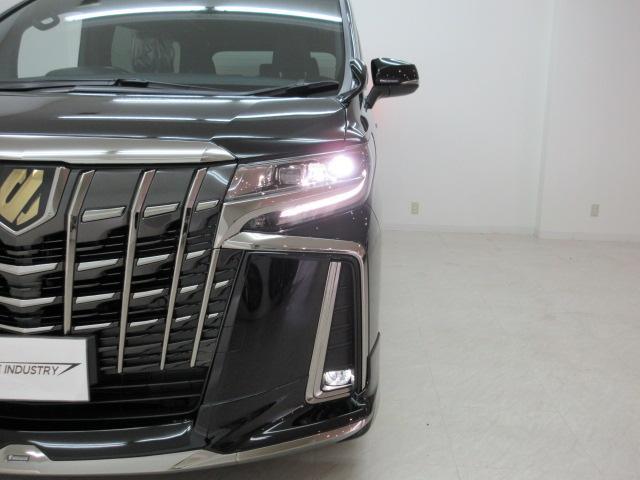 2.5S タイプゴールド 新車 モデリスタエアロ 3眼LEDヘッドシーケンシャルウィンカー ディスプレイオーディオ 両側電動スライド パワーバック ハーフレザー オットマン レーントレーシング Bカメラ 100Vコンセント(50枚目)