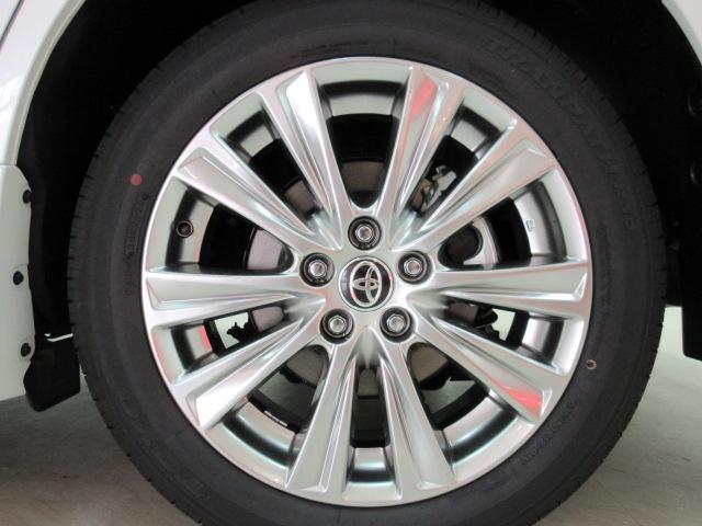 2.5S タイプゴールド 新車 モデリスタエアロ 3眼LEDヘッドシーケンシャルウィンカー ディスプレイオーディオ 両側電動スライド パワーバック ハーフレザー オットマン レーントレーシング Bカメラ 100Vコンセント(13枚目)