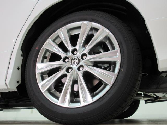 2.5S タイプゴールド 新車 モデリスタエアロ 3眼LEDヘッドシーケンシャルウィンカー ディスプレイオーディオ 両側電動スライド パワーバック ハーフレザー オットマン レーントレーシング Bカメラ 100Vコンセント(42枚目)