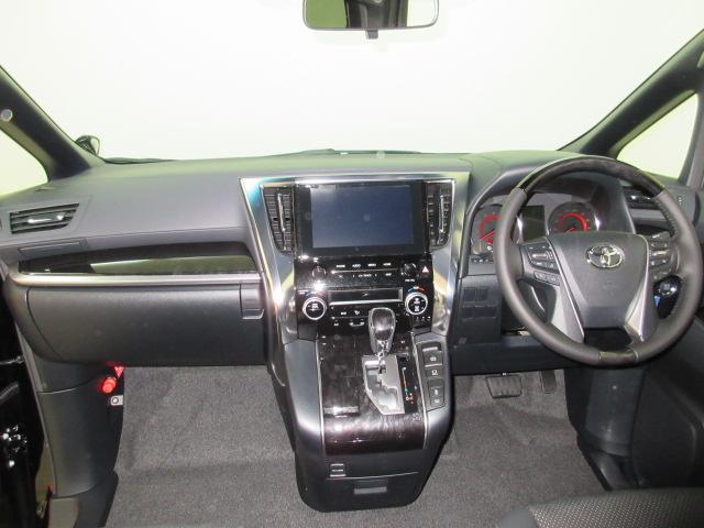 2.5S タイプゴールド 新車 モデリスタエアロ フリップダウンモニター 3眼LEDヘッドシーケンシャルウィンカー ディスプレイオーディオ 両電スラ Pバック ハーフレザー オットマン レーントレーシング 100Vコンセント(6枚目)