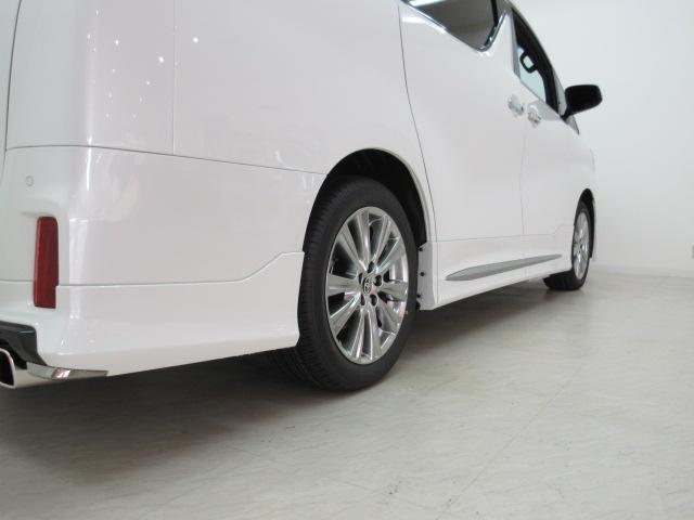 2.5S タイプゴールド 新車 モデリスタエアロ フリップダウンモニター 3眼LEDヘッドシーケンシャルウィンカー ディスプレイオーディオ 両電スラ Pバック ハーフレザー オットマン レーントレーシング 100Vコンセント(31枚目)