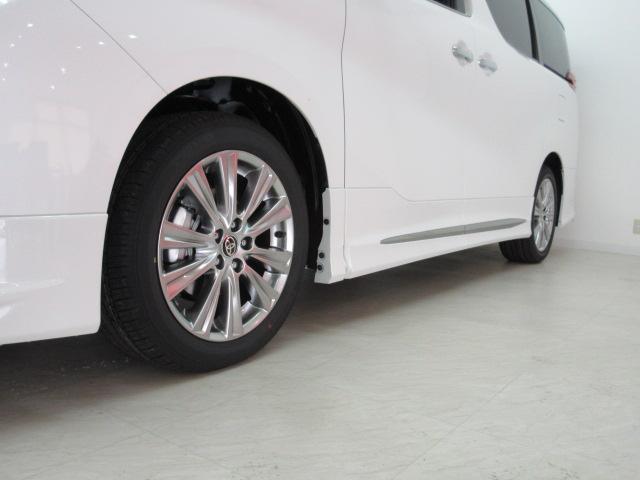 2.5S タイプゴールド 新車 モデリスタエアロ フリップダウンモニター 3眼LEDヘッドシーケンシャルウィンカー ディスプレイオーディオ 両電スラ Pバック ハーフレザー オットマン レーントレーシング 100Vコンセント(40枚目)