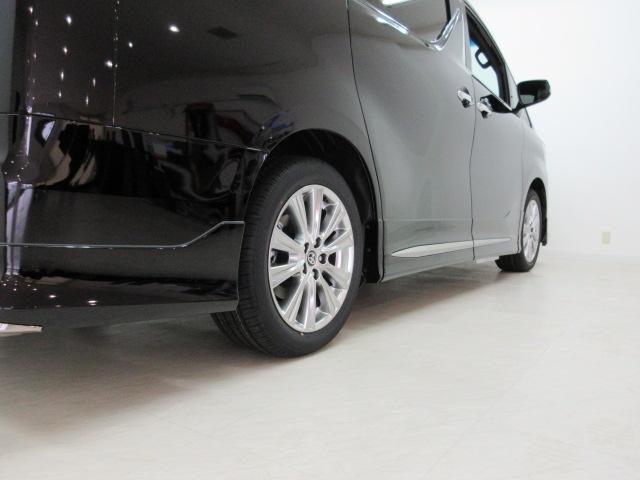 2.5S タイプゴールド 新車 モデリスタエアロ 3眼LEDヘッドシーケンシャルウィンカー ディスプレイオーディオ 両側電動スライド パワーバック ハーフレザー オットマン レーントレーシング Bカメラ 100Vコンセント(47枚目)