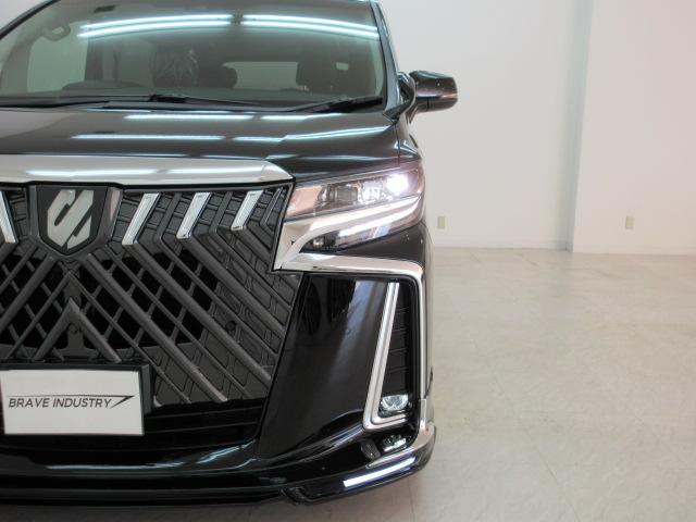 2.5S Cパッケージ 新車 WALDフルコンプリート 車高調 20インチアルミ サンルーフ 3眼LEDヘッド シーケンシャルウィンカー ディスプレイオーディオ 両側電動スライド パワーバック レザーシート 電動オットマン(15枚目)