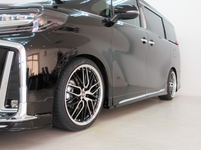 2.5S Cパッケージ 新車 WALDフルコンプリート 車高調 20インチアルミ サンルーフ 3眼LEDヘッド シーケンシャルウィンカー ディスプレイオーディオ 両側電動スライド パワーバック レザーシート 電動オットマン(40枚目)