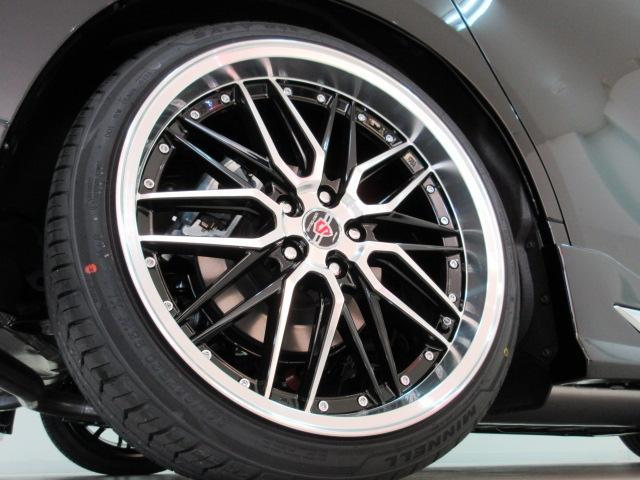 2.5S Cパッケージ 新車 WALDフルコンプリート 車高調 20インチアルミ サンルーフ 3眼LEDヘッド シーケンシャルウィンカー ディスプレイオーディオ 両側電動スライド パワーバック レザーシート 電動オットマン(42枚目)