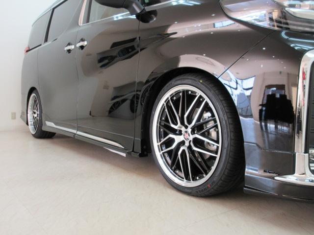 2.5S Cパッケージ 新車 WALDフルコンプリート 車高調 20インチアルミ サンルーフ 3眼LEDヘッド シーケンシャルウィンカー ディスプレイオーディオ 両側電動スライド パワーバック レザーシート 電動オットマン(44枚目)