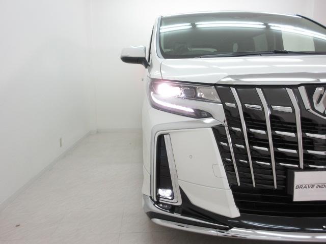 2.5S Cパッケージ 新車 モデリスタエアロ 3眼LEDヘッドライト シーケンシャルウィンカー 両側電動スライド パワーバックドア ブラックレザー レーントレーシング 衝突防止安全ブレーキ レーダークルーズ(46枚目)