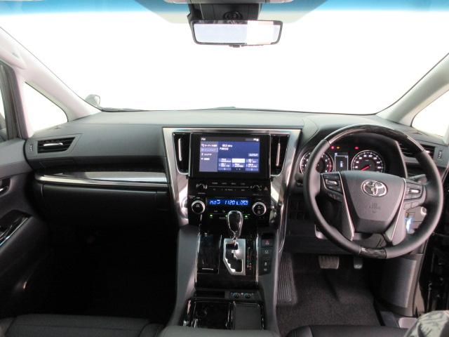 2.5S Cパッケージ 新車 3眼LEDヘッドライト シーケンシャルウィンカー フリップダウンモニター ディスプレイオーディオ 両側電動スライド パワーバックドア オットマン レーントレーシング レザーシート 電動オットマン(6枚目)