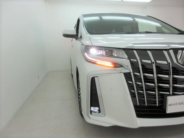 2.5S Cパッケージ 新車 ナビ フリップダウンモニター 3眼LEDヘッドライト シーケンシャルウィンカー ディスプレイオーディオ 両側電動スライド パワーバックドア ブラックレザーシート オットマン レーントレーシング(45枚目)