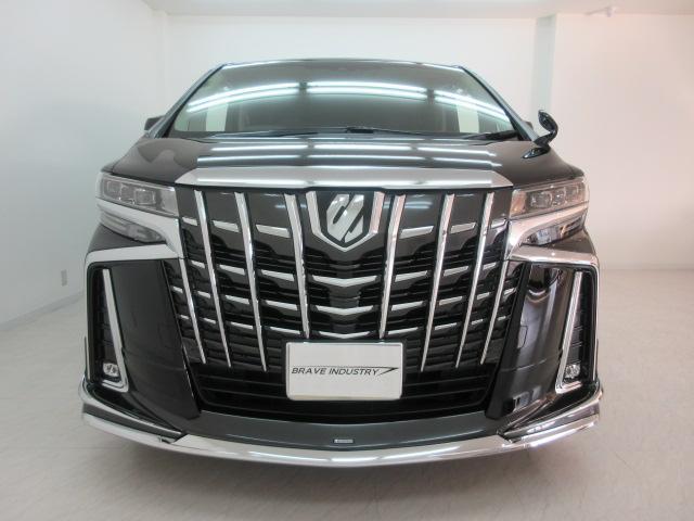 2.5S Cパッケージ 新車 モデリスタフルエアロ サンルーフ フリップダウンモニター 3眼LEDヘッドライト シーケンシャルウィンカー ディスプレイオーディオ 両側電動スライドパワーバックドア レザーシート 電動オットマン(2枚目)