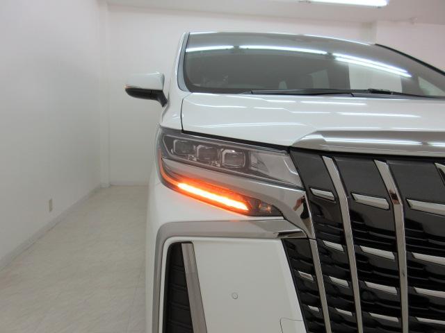 2.5S タイプゴールドII 新車 フリップダウンモニター 3眼LEDヘッドシーケンシャル ディスプレイオーディオ 両側電動スライド パワーバックドア ハーフレザーシート オットマン レーントレーシング バックカメラ コンセント(50枚目)