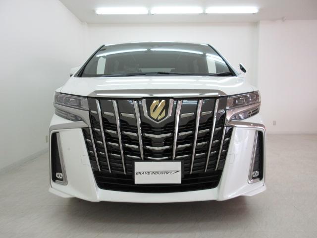 2.5S タイプゴールドII 新車 サンルーフ デジタルインナーミラー BSM 3眼LEDヘッド シーケンシャルウィンカー  ディスプレイオーディオ 両側電動スライド パワーバックドア ハーフレザー オットマン レーントレーシング(21枚目)